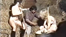 Riding School Spankers - British Spanking Movie Solange Frolic Lecarrio