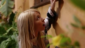 Blond girl Kenzie Reeves is spying greater than perfectly shaped milf living nextdoor
