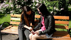 Russian lesbo Veronica Snezna gets emotional by way of good fingering