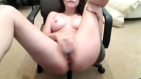 horny stepsister fingerfucking herself
